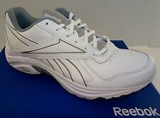 REEBOK DMX Max Mania Men's Leather Walking Shoes  White   6.5-14M  NWD