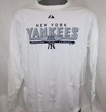 NEW Mens MAJESTIC New York Yankees MLB 2 Pack Baseball Tee T-Shirt Combo OPENED