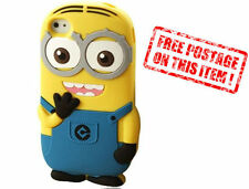 Despicable Me Minion Cute Soft Silicone Samsung/iPhone/iPod Touch Case Cover