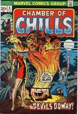 Chamber of Chills (1972 series) #5 in Near Mint - condition. FREE bag/board