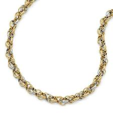 Leslie's 14k Two Tone Two Tone Gold Necklace or Bracelet LF758
