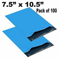 BLUE Light Poly Mailer Plastic Shipping Mailing Bags Envelope, Self Seal Bag