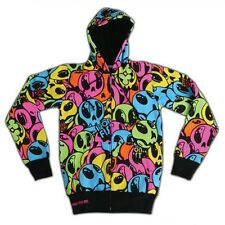 IRON FIST  99 DEAD BALLOONS LADIES ZIP HOODIE