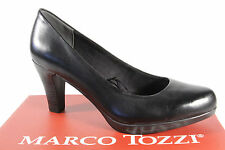 Marco Tozzi 22415 Court shoes Slippers Casual black soft inner sole leather new