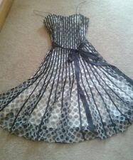 Beautiful Phase eight Black and Cram Cocktail/Party Dress size 14