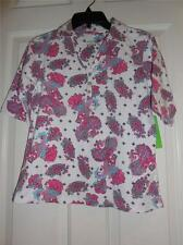 Paisley Print Golf Polo Shirt NEW By Allyson Whitmore Golf Size Small