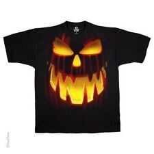 T-Shirts Size Medum New Mens Liquid Blue Jack O Lantern Halloween Tee Shirt