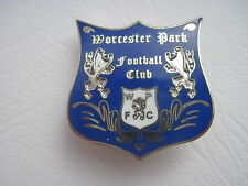 Worcester Park FC Football Club Badge - Enamel Non League Football Pin Badge