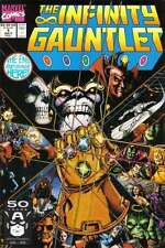 Infinity Gauntlet (1991 series) #1 in Near Mint condition. FREE bag/board