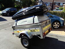 Franc camping trailer with hard top, roof bars & full electrics - Yeovil