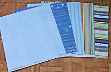 """5 Sheets of Scrapbooking Papers 12""""x12"""" * Brand New Choice of 5 Designs (5)"""