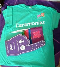 Official Ceremonies London 2012 Olympic & Paralympic Tshirt Uniform Rare