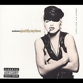 MADONNA - JUSTIFY MY LOVE rare Explicit version Single cd 5 Mixes