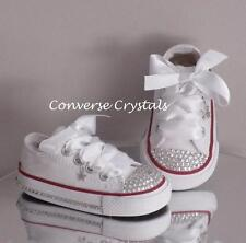 Girls Custom Crystal Toes & Sides *Bling* Converse  Infant Sizes 2-10