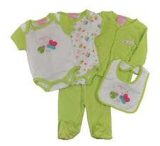 Take Me Home Newborn Girls Lime 5pc Layette Set Size 3/6M 6/9M $22
