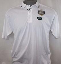 NEW Mens Team Apparel New York JETS e-systems NFL Moisture Wicking Polo Shirt