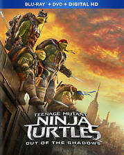 TMNT OUT OF THE SHADOWS (Blu-ray/DVD, 2016, Digital Copy) NEW WITH SLEEVE