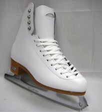 Riedell 229 TS Figure Ice Skate w/ Eclipse Blades Size 4 Wide (7348) New