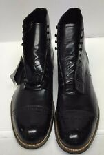 Stacy Adams Madison Black Ankle Boot 00044 01 New Men's See Photos
