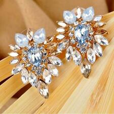 Crystal Rhinestone Ear Stud Lady Fashion Earrings Jewelry Girls Women Elegant