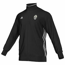 adidas Mens Gents Football Soccer Juventus Core Track Top Jacket - Black
