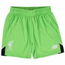 New Balance Mens Gents Football Soccer Liverpool Home Goalkeeper Shorts 2016-17