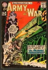 OUR ARMY AT WAR 122 5.5 FINE- 1962 DC JOE KUBERT SGT ROCK EASY COMPANY