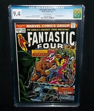 FANTASTIC FOUR #144 CGC 9.4 NM 1974 DR. DOOM, DARKOTH, MARVEL