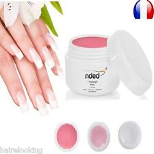 SET ONE PHASE UV GEL 3 IN 1 NDED 0.2 oz BASE CONSTRUCTION FINISHING NAILS 24/72
