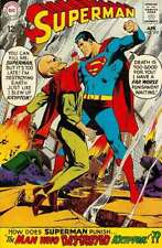 Superman (1939 series) #205 in Very Good condition. FREE bag/board