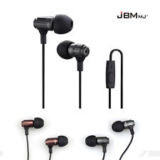 Super Bass Stereo 3.5mm Headphone Earbud Earphone Headset Mic For iPhone Samsung