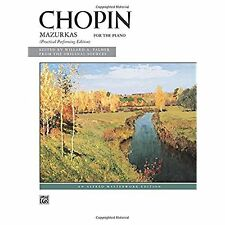 Chopin: Mazurkas for the Piano, Complete, Alfred Masterwork Edition, Practical P