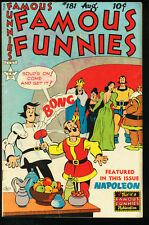 FAMOUS FUNNIES #181-BUCK ROGERS-SCORCHY SMITH VG/FN
