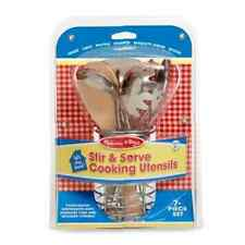 Melissa & Doug Let's Play House Stir and Serve Cooking Utensils