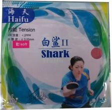 HaiFu shark II (Factory Tuned) Pips-In Table Tennis Rubber/Sponge, New