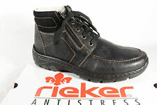 Rieker 39932 Boots Lace up boots Ankle boots with zipper black new