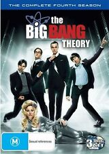 DVD THE BIG BANG THEORY THE COMPLETE FOURTH SEASON 3 DISC SET LIKE NEW FREE POST