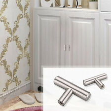 12mm Stainless Steel Kitchen Door T Bar Handle Pull Knob Cabinet Drawer Silver