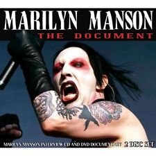 The Document: Interview/+DVD Marilyn Manson Audio CD