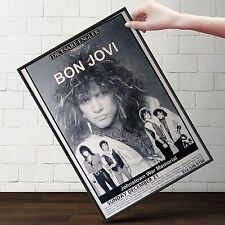 BON JOVI Concert Poster | Cubical ART | Gifts For Guys, Geeks | FREE Shipping