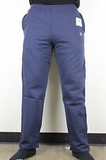 Champion Mens Eco Fleece Navy Blue Small C Logo Sweatpants NWT