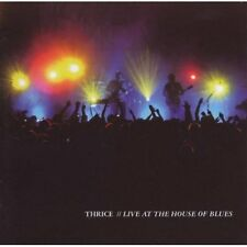 Live At The House Of Blues Thrice Audio CD