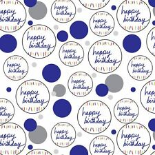 Premium Gift Wrap Wrapping Paper Roll Pattern Birthday Party