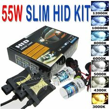 55W HID Xenon Headlight Conversion KIT H1/H3/H4/H7/H11/9005/9006/880/881/9004