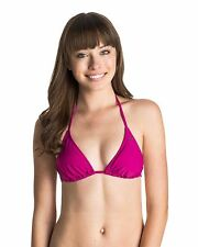NEW ROXY™  Womens Surf Essentials Tiki Tri Separate Bikini Top Womens Swimwear