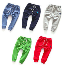 Lovely Toddler Kid Boy Girl Harem Pants Trousers Slacks Bottoms Clothing 2-7Y