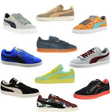 Puma Suede Classic Archive Tropicalia Crafted Camo Lines Star Trainers Unisex