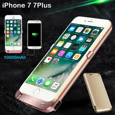 10000mAh External Power Bank Pack Backup Battery Charger Case For iPhone 6 6S 7+