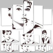 Canvas Picture Canvas Wall Tattoo Art Print People Audrey Hepburn Actress