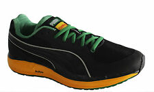 Puma Faas 500 Jamaica Mens Trainers Running Shoes Black Mesh Lace 185527 02 D21